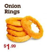 onios rings durum burger sides