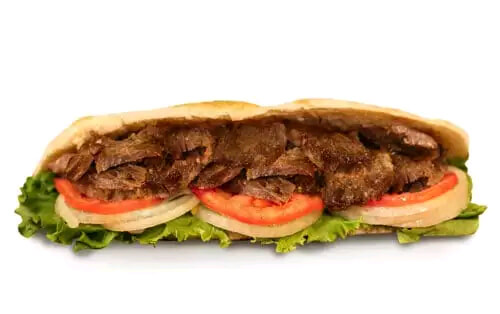 beef doner halal durum cafe
